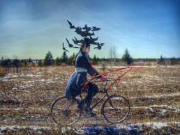 Avian Wanderer II, by Meryl McMaster1