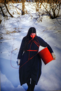 Equinoctial Line by Meryl McMaster