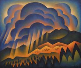 Sushe+Felix+Dark+Storm+acrylic+on+panel+20+x+24