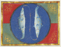 Les Poissons The Fishes Livre d'Heures Pierpont Morgan Library